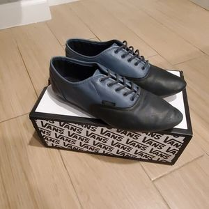 Vans Pointed Leather Oxfords